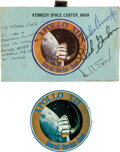 Explorers:Space Exploration, Apollo 12 VIP Launch Invitation Signed by the Crew for Astronaut Jerry Carr's Mother, Directly from His Family Collection,... (Total: 2 )