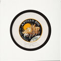Explorers:Space Exploration, Apollo 13 Flown Beta Cloth Mission Insignia Directly from the Personal Collection of Mission Commander James Lovell, Signed, w...