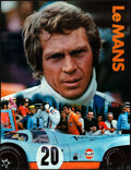"""Movie Posters:Sports, Le Mans (Cinema Center, 1971). Rolled, Very Fine+. Gulf Promotional Poster (17"""" X 22""""). Sports.. ..."""