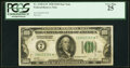 Small Size:Federal Reserve Notes, Fr. 2150-G* $100 1928 Federal Reserve Star Note. PCGS Very Fine 25.. ...