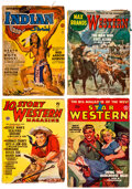 Pulps:Western, Assorted Western Pulps Box Lot (Various, 1934-57) Condition: Average VG-....