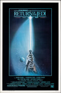 """Movie Posters:Science Fiction, Return of the Jedi (20th Century Fox, 1983). Rolled, Very Fine+. One Sheet (27"""" X 41"""") Style A. Tim Reamer Artwork. Science ..."""