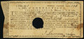 Colonial Notes:Connecticut, Connecticut Treasury Office Certificate £22 19s 1d Feb. 1, 1781 Very Fine, HOC.. ...