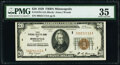 Small Size:Federal Reserve Bank Notes, Fr. 1870-I; J $20 1929 Federal Reserve Bank Notes. PMG Gra...