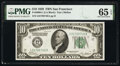 Small Size:Federal Reserve Notes, Fr. 2000-L $10 1928 Federal Reserve Note. PMG Gem Uncirculated 65 EPQ.. ...
