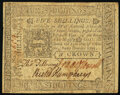 Pennsylvania October 25, 1775 5s About New