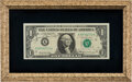 Explorers:Space Exploration, Apollo 9 Crew-Signed Dollar Bill in Framed Display. ...