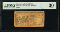 Colonial Notes:New Jersey, New Jersey April 23, 1761 £6 PMG Very Fine 30.. ...