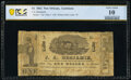Obsoletes By State:Louisiana, New Orleans, LA- J. A. Benjamin, Dry Goods Store $1 Jan. 20, 1862 PCGS Banknote Very Good 10 Details.. ...
