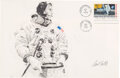"""Explorers:Space Exploration, Apollo 11: Paul Calle Original Signed Pencil Drawing of Neil Armstrong Suiting Up the Morning of the Launch, on a Large """"First..."""