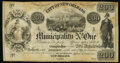 New Orleans, LA- City of New Orleans Municipality No. One $200 1837 Remainder Very Fine