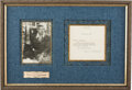 Autographs:U.S. Presidents, Eleanor Roosevelt Typed Letter Signed. One page, 5...