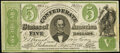 CT33/250C Counterfeit $5 1861 Very Fine