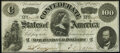 Confederate Notes:1862 Issues, T49 $100 1862 PF-2 Cr. 348 Very Fine-Extremely Fine.. ...