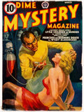 Pulps:Horror, Dime Mystery Magazine - March 1940 (Popular) Condition: VG-....