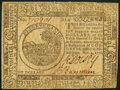 Colonial Notes:Continental Congress Issues, Continental Currency November 2, 1776 $6 Very Fine.. ...