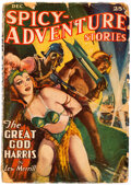 Pulps:Science Fiction, Spicy Adventure Stories - December 1940 (Culture) Condition: GD+....