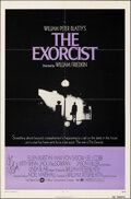 """Movie Posters:Horror, The Exorcist (Warner Bros., 1974). Folded, Fine/Very Fine. Autographed One Sheet (27"""" X 41""""). Horror.. ..."""