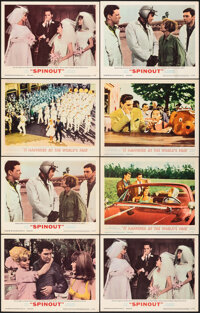 "Spinout & Other Lot (MGM, 1966). Very Fine-. Lobby Cards (8) (11"" X 14""). Elvis Presley. ... (Total: 8)"