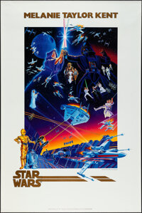 "Star Wars (Lucasfilm, 1992). Rolled, Very Fine. 15th Anniversary Print (24"" X 36"") Melanie Taylor Kent Artwork..."