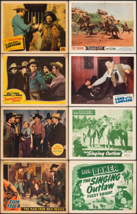 """The Man from New Mexico & Other Lot (Monogram, 1932). Overall: Fine+. Lobby Cards (13) (11"""" X 14""""), Title..."""
