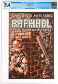 Modern Age (1980-Present):Alternative/Underground, Raphael Teenage Mutant Ninja Turtle #1 (Mirage Studios, 1985) CGC NM 9.4 Off-white to white pages....