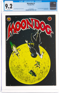 Moondog #1 (Print Mint, 1971) CGC NM- 9.2 White pages