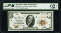 Fr. 1860-C $10 1929 Federal Reserve Bank Note. PMG Uncirculated 62 EPQ