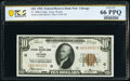 Fr. 1860-G $10 1929 Federal Reserve Bank Note. PCGS Banknote Gem Unc 66 PPQ