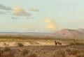 Paintings, Porfirio Salinas (American, 1910-1973). Looking 'em Over. Oil on canvas. 24 x 36 inches (61.0 x 91.4...