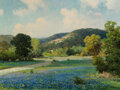 Paintings, Robert William Wood (American, 1889-1979). Hill Country. Oil on canvas. 23 x 31 inches (58.4 x 78.7 ...
