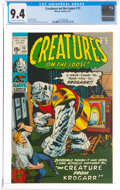 Bronze Age (1970-1979):Horror, Creatures on the Loose #13 (Marvel, 1971) CGC NM 9.4 Off-white to white pages....