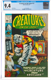 Creatures on the Loose #13 (Marvel, 1971) CGC NM 9.4 Off-white to white pages