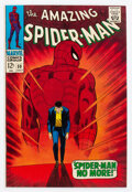 Silver Age (1956-1969):Superhero, The Amazing Spider-Man #50 (Marvel, 1967) Condition: Apparent VF/NM....