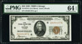 Small Size:Federal Reserve Bank Notes, Fr. 1870-G $20 1929 Federal Reserve Bank Note. PMG Choice ...