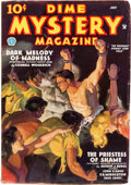 Pulps:Horror, Dime Mystery Magazine - July 1935 (Popular) Condition: FN....