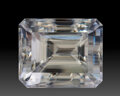 Gems:Faceted, Gemstone: Dolomite - 31.79 Cts.. Brazil. 18.66 x 15.36 x 15.18 mm. ...