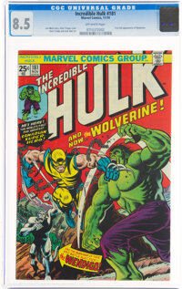 The Incredible Hulk #181 (Marvel, 1974) CGC VF+ 8.5 Off-white pages