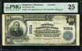 National Bank Notes:Oklahoma, Kingfisher, OK - $10 1902 Plain Back Fr. 627 Th...