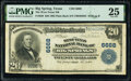 National Bank Notes:Texas, Big Springs, TX - $20 1902 Plain Back Fr. 650 The West Texas National Bank Ch. # 6668 PMG Very Fine 25.. ...