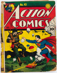 Action Comics #43 (DC, 1941) Condition: PR