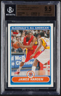 Basketball Cards:Singles (1980-Now), 2007 Topps McDonald's All-American James Harden #JH BGS Gem Mint 9.5. ...