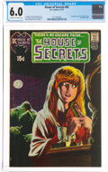 Bronze Age (1970-1979):Horror, House of Secrets #92 (DC, 1971) CGC FN 6.0 Cream to off-white pages....