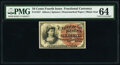 Fractional Currency:Fourth Issue, Fr. 1257 10¢ Fourth Issue PMG Choice Uncirculated 64.. ...