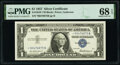 Small Size:Silver Certificates, Fr. 1619* $1 1957 Silver Certificate Star. PMG Superb Gem ...