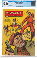 Golden Age (1938-1955):Superhero, Dynamic Comics #14 (Chesler, 1945) CGC VG/FN 5.0 Off-white to white pages....