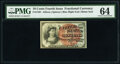 Fractional Currency:Fourth Issue, Fr. 1261 10¢ Fourth Issue PMG Choice Uncirculated 64.. ...