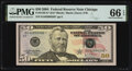 Small Size:Federal Reserve Notes, Fr. 2128-G* $50 2004 Federal Reserve Note. PMG Gem Uncircu...
