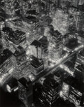 Photographs, Berenice Abbott (American, 1898-1991). New York at Night, 1932. Gelatin silver, printed later. 13-3/4 x 10-3/4 inches (3...