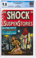 Golden Age (1938-1955):Horror, Shock SuspenStories #6 Gaines File Pedigree 6/12 (EC, 1952) CGC NM/MT 9.8 Off-white to white pages....